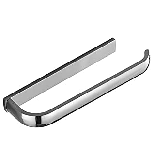 Aothpher 30cm Wall Mounted Brass Bathroom Towel Bars,Polished Chrome finished Lavatory Towel Rack