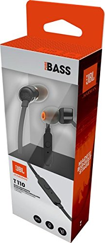 JBL T110 Wired Earphones (Black)