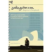 Justinguitar.com Beginner's Songbook - 2nd Edition (Spiral Bound) by Justin Sandercoe (2012) Spiral-bound