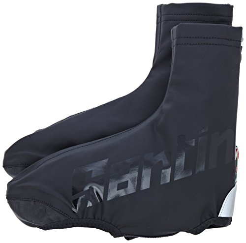 SANTINI 365 PARED AERO CUBREZAPATILLAS IMPERMEABLE  UNISEX  COLOR NEGRO   NEGRO  TAMAÑO LARGE