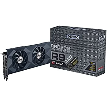 XFX R9 390 Scheda Video, 8GB, Nero