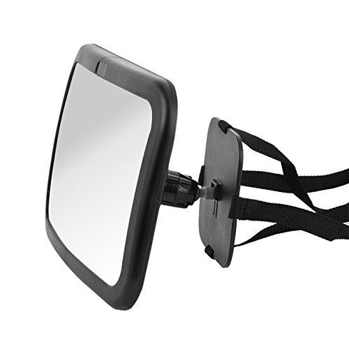 Comprar dedc espejo retrovisor de coche para vigilar al beb monitor espejo ajustable trasero - Espejo coche bebe amazon ...
