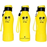PERPETUAL BLISS™ (PACK OF 12) SMILEY WATER BOTTLE, RETURN GIFTS FOR KIDS BIRTHDAY PARTY (FOR MORE GIFTS SEARCH FOR PERPETUAL BLISS™)