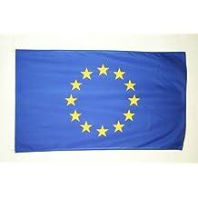 BANDIERA EUROPA 150x90cm - BANDIERA UNIONE EUROPEA – UE 90 x 150 cm - AZ FLAG