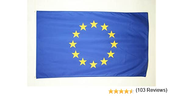 Bandiera Unione Europea UE 60 x 90 cm Foro per Asta AZ FLAG Bandiera Europa 90x60cm