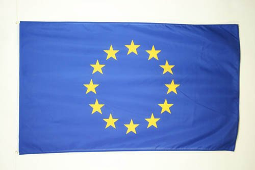 BANDIERA EUROPA 150x90cm - BANDIERA UNIONE EUROPEA - UE 90 x 150 cm - AZ FLAG