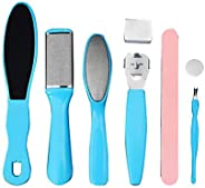 8 in 1 Professional Pedicure kit Set Pedicure Rasp Foot File Callus Remover for Dead, Hard Skin, Cracked Heels