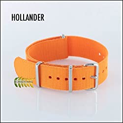 Regimental NATO Strap 20mm Orange