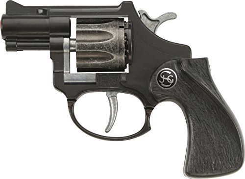 J.G.Schrödel R8: Spielzeugpistole mit Daumenauflage, ideale Ausrüstung für -
