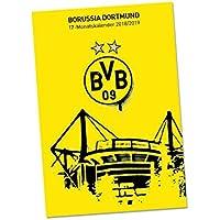 Borussia Dortmund BVB Fanartikel BVB 17 Monatskalender Kalender Schulbedarf Schule