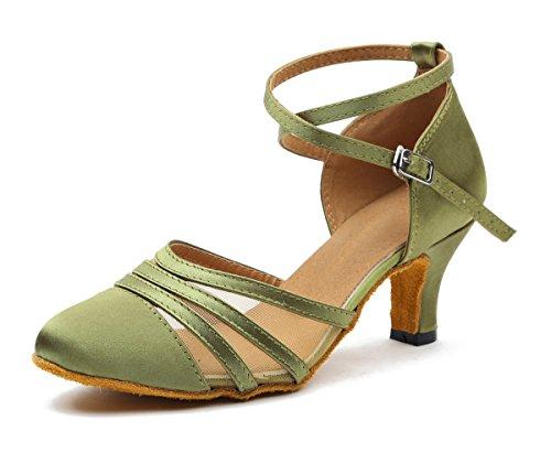 Minitoo ,  Damen Tanzschuhe , grün - grün - Größe: 40