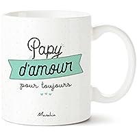 Mug papy d'amour | Papy d'amour pour toujours | Cadeau papy