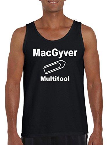 Touchlines Merchandise TLM MacGyvers Multitool Tank Top Muskelshirt Herren XXL Schwarz