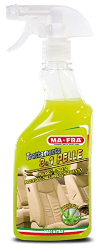 Ma-Fra, 3in1 Pelle, detergente per Interni Auto, Spray 500 ml
