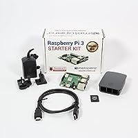 Melopero Raspberry Pi 3 Model B+ Official Starter Kit BLACK con 32GB microSD (con Raspbian)