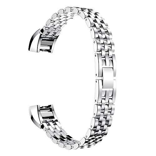 DakTou Fitbit Alta Armband, Fitness-Armband mit sicheren Metallschloss Stilvolle Zubehör Band Verstellbaren Straps Watch Gürtel für Fitbit Alta/Fitbit Alta HR Smartwatch