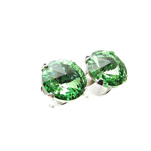 lagerraumung-925-silber-ohrstecker-handgefertigt-mit-funkelnden-peridot-kristall-aus-swarovskir