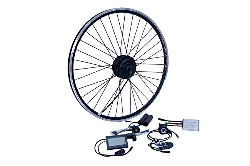 "NCB E-Bike Umbausatz 26 Zoll 6/7 Hinterrad RWD 250W Kit Disc + V Brake Kabel wasserfest IP65 36V ENC36250-26-RWD 26\"""