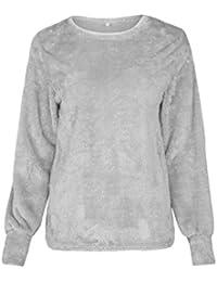 179578961ac203 WanYang Donna Maglioni Girocollo Lunghi Pullover Manica Lunga Autunno  Invernale Pullover