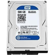 WD WD5000AAKX Blu Hard Disk Desktop da 500 GB, 7200 RPM, SATA 6 GB/s, 16 MB Cache, 3.5