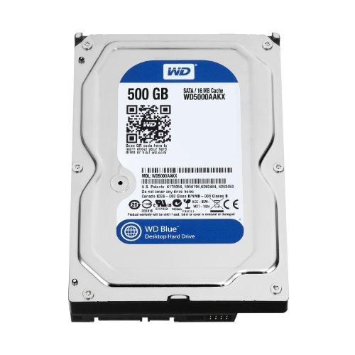 WD Blue 500GB Internal Hard Drive (WD5000AAKX)