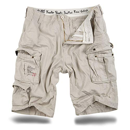 Trooper Shorts Lightning Edition Offwhite - L