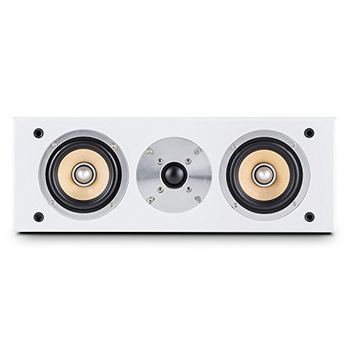 auna Linie 501 CS-WH Home Cinema • Altavoz Central pasivo de 2...