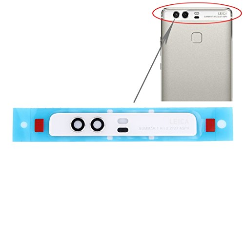 Piezas de repuesto para teléfonos móviles, IPartsBuy Huawei P9 Lente de cámara trasera ( Color : Blanco )