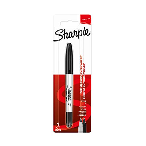 Sharpie rotulador permanente de doble punta