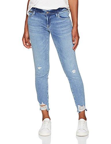 Mavi Damen Skinny Jeans Serena Ankle, Blau (Light Brushed Glam 23773), W27 (Mavi Jeans Damen)