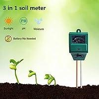 Medidor de humedad suelo de humedad Cuchillo, higrómetro para el jardín & la Agricultura, no necesita pilas