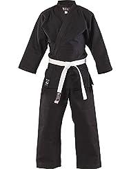 Blitz Sports Traje de Judo de estudiantes algodón - negro