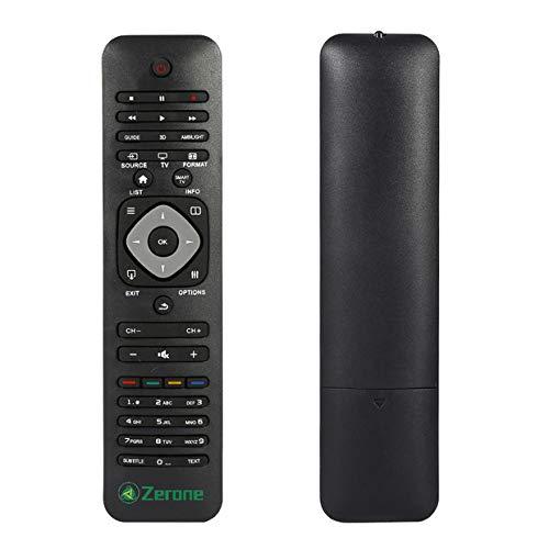 Universal-Fernbedienung für PHILIPS Smart TV, TV-Fernbedienung Ersatz für Philips Marke LCD LED TVs