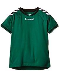 Hummel  Stay Authentic Jersey - Camiseta, color Verde Evergreen, 6-8 EU