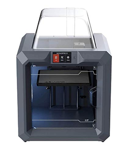 Monoprice 300 3D-Drucker - Schwarz mit großer beheizter Bauplatte (280 x 250 x 300 mm) Vollständig geschlossen, Touchscreen, unterstütztes Nivellieren, einfaches WLAN, 8 GB interner Speicher - 2