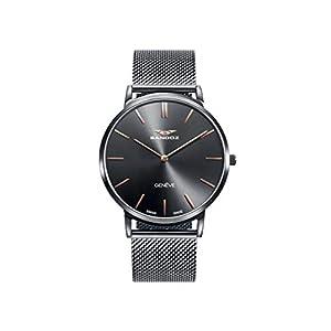 Sandoz – Reloj Acero IP Gris Brazalete Sr Classic & Slim Sa –