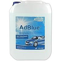 AdBlue - Soluzione di urea ad alta purezza per SCR Post-trattamento gas di scarico Da 10 Litri incluso, Tubo di alimentazione