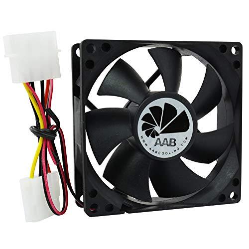 AAB Cooling Fan 8 - Leise und Efizient 80mm Gehäuselüfter - Ökonomische Reihe Für CPU Lüfter | Ventilator | Gehäuse Lüfter | Ventilator 12V | Gehäuselüfter 80mm