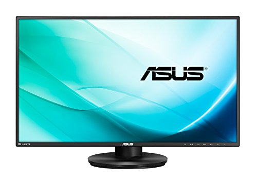 Asus VN279QLB 68,6 cm (27 Zoll) Monitor (Full HD, VGA, HDMI/MHL, DisplayPort, 5ms Reaktionszeit) schwarz Widescreen Flat Panel