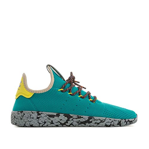 51b68a80c adidas Originals Herren Pharrell Williams Tennis HU Sneakers Schuhe -Teal