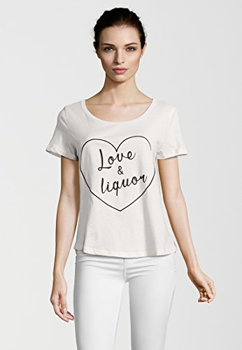 CATWALK JUNKIE Damen T-Shirt LOVE AND LIQUOR Quartz