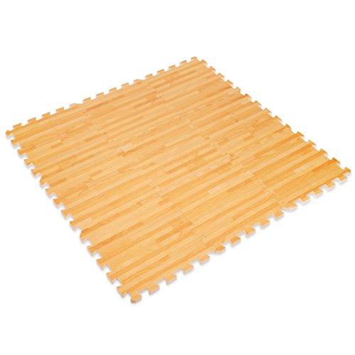 Wood Effect Interlocking – Protective Flooring