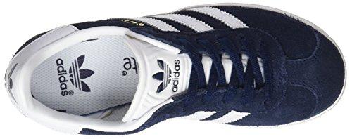 adidas Originals Gazelle C Collegiate Navy Suede Junior Trainers Collegiate Navy