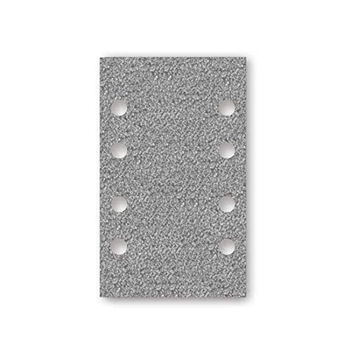 MENZER Platinum Klett-Schleifblätter, 133 x 80 mm, 8-Loch, Korn 400, f. Schwingschleifer, Halbedelkorund (50 Stk.)