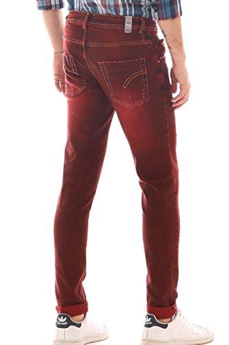 Alive Herren Jeanshose Rot