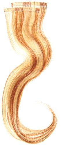 Balmain Lot de 2 mèches d'extensions en cheveux naturels Bande adhésive Blond miel 40 cm