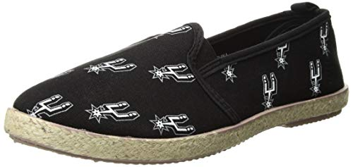 FOCO NBA Damen NBA Espadrille Canvas Schuh - Damen, Damen, San Antonio Spurs, Small - San Antonio Spurs-bean-bag