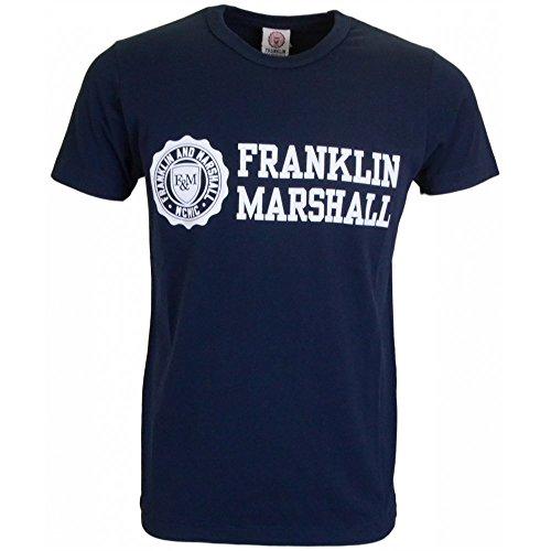 Franklin & Marshall -  T-shirt - Maniche corte - Uomo TSMVA 176 W15 | Navy Large