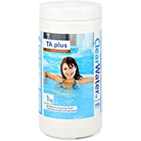 Clearwater TA Plus Alkalinity Increaser for Swimming Pool and Spa Treatment, White