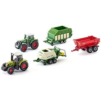 Cadeau Mobiles2 6286Coffret AgricultureMétalPlastiqueMulticoloreAssortiment Remorques De CompatiblesPièces SIKU 7 Jouets Tracteurs3 CderxBoWQ